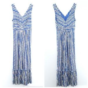 Plenty Tracey Reese Blue Long Maxi Dress Summer MP